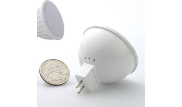 LED lamp MR16, 5 watt, warmwit, 5x