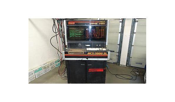 Motor diagnose kast Sun MCS 2000 SL