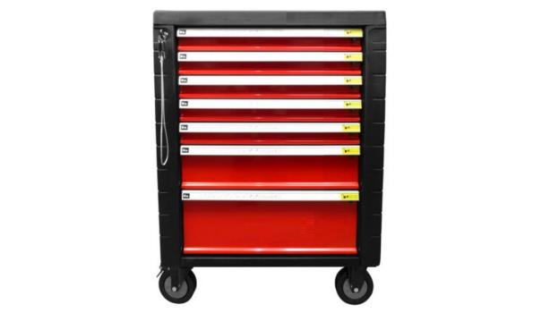 Gereedschapswagen Red Edition, 7 laden, 854 delig