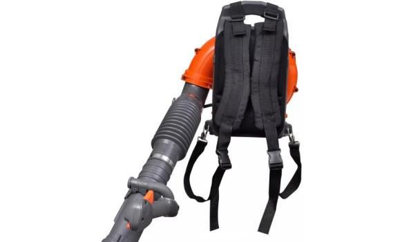 Bladblazer, benzine 58cc, 2-takt, 2 stuks