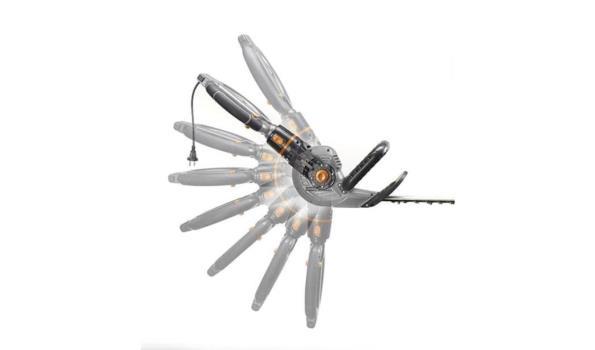 Heggenschaar 2IN1 & telescopische steel, 2x