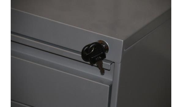 Ladenblok incl. sleutel - 3 lades