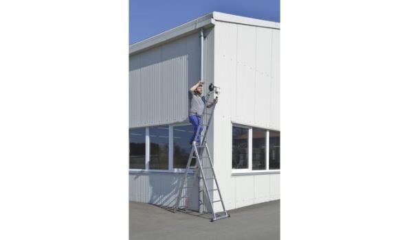Reformladder, Aluminium Lichtgewicht, 3x7 sporten met stabilisatiebalk